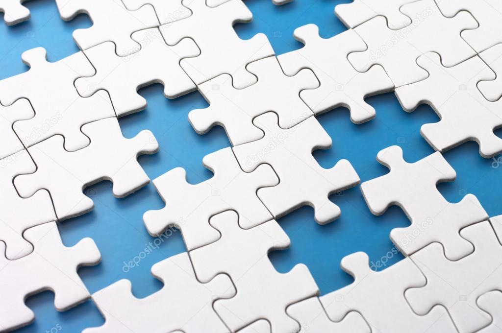 Missing puzzle pieces. — Stock Photo © Tadamichi #21094391