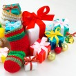 Colorful Christmas presents. — Stock Photo