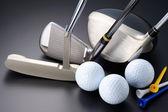 Golf ekipmanları. — Stok fotoğraf
