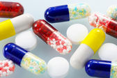Closeup of medicines. — Stockfoto