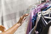 Clothes Sale Market — Stock Photo