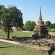 Pagoda in Wat Burana — Stock Photo