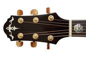 Acoustic Guitar Head — Stock Photo