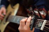 Guitar Capo — Stock Photo