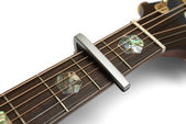 Guitar Capo — Stock Photo