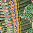 Korean Traditional Architecture Detail - Foto Stock