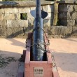 Korean tradtional cannon called CheonJaChongTong, in Jinju Castle — Foto Stock