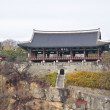 Korean Traditional Architecture, ChokSeongru, in Jinju, Korea — Stock Photo #29886477