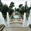 Fountain in Villa d'Este. Tivoli, Italy — Foto Stock