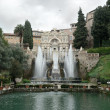 Fountain in Villa d'Este. Tivoli, Italy — Stock Photo