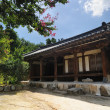SuJolDang, Korean Traditional House in Yangdong Village, GyeongJu, Korea — Stock Photo