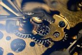 Close-up gears of Wrist watch — Stock Photo