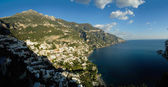 Positano in the Amalfi coast, Italy — Stock Photo