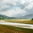 Landscape of Soyang River in Inje, Korea — Photo