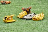 Baseball gloves — Stockfoto