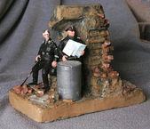 Miniature German soldiers — Stok fotoğraf