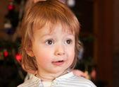 Un enfant surpris — Photo