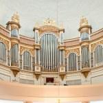 Organ of Helsinki Cathedral — Stock Photo