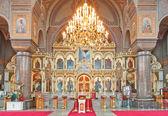 Uspenski Cathedral interior — Stock Photo