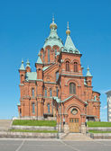 Uspenski Cathedral in Helsinki — Stock Photo
