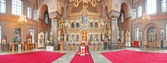 Uspenski Cathedral interior — Stock Photo