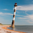 Tilted lighthouse — Stock Photo