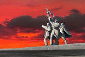 World War II Victory Monument in Riga — Stock Photo