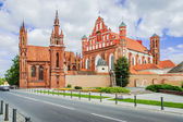 St Anne's church, Vilnius — Stock Photo