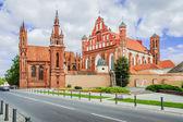 St Anne's church, Vilnius — Stock Photo