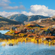 Mountain landscape in Norway — Stock Photo