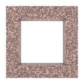 Rama tło granit — Zdjęcie stockowe
