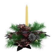 Christmas candles atmosphere — Stock Photo