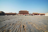 Temples of the Forbidden City in Beijing China — Stock Photo