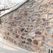 Old stone wall texture background . — Stock Photo