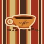 Espresso card — Stock Vector
