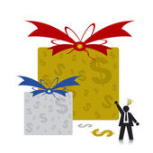 Gift Box — Stock Vector