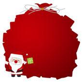 Santa claus design — Stock Vector