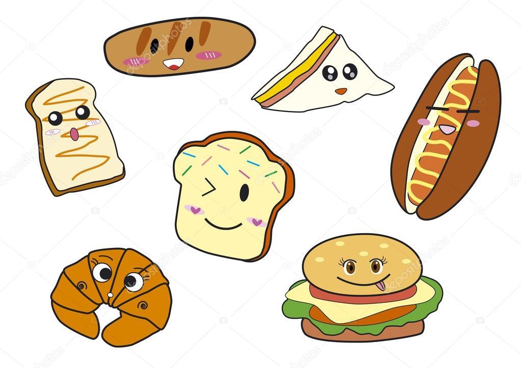 Dibujos Animados De Panadería