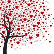 Heart tree — Vector de stock #19262679