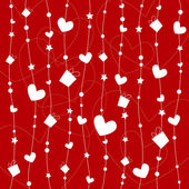 Valentines background design — Stock Vector