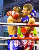 Campeonato mundial de aficionados pro-am muay thai en bangkok nonzee estadio nacional phathumwan tailandia 13-22 de marzo de 2013 — Foto de Stock