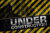 Under construction design — Stock Photo