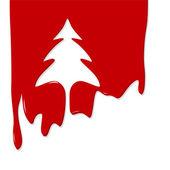 Vánoční stromeček návrh — Stock vektor