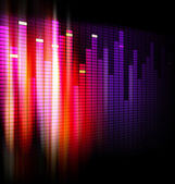 Equalizer background design — Stock Photo