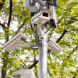 CCTV in the park — Stock Photo