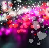 Hearts background — Foto de Stock