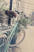 винтаж велосипедов — Стоковое фото