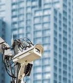 CCTV in the city — Stock Photo