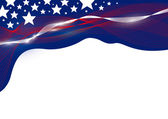 USA background — Stock Vector