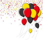 Vector balloon design on white background — Stock Vector